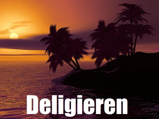 deligieren