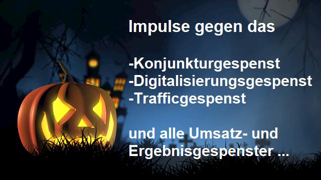 Halloween Gespenser im Business